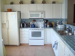 Small Picture kitchens with white appliances Antique White Kitchen Cabinets