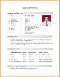 Example Of Resume For Job Application In Malaysia Unique Resume