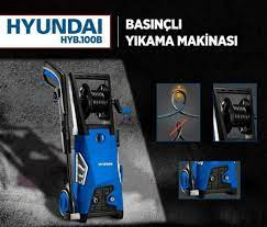 Hyundai HYB100B 140 Bar Basınçlı Yıkama Makinesi