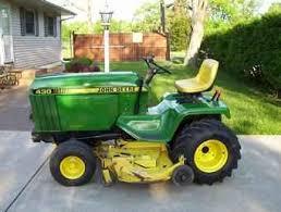 diesel garden tractor. John Deere 430 Diesel Garden Tractor O