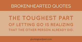 Quotes About Being Broken Hearted Delectable Brokenhearted Quotes For Comfort And Reflection Greeting Card Poet