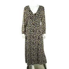 Madewell Womens Wrap Dress Brown Size Xs Velvet Polka Dot