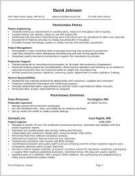Resume Examples Internal Position Your Prospex