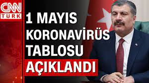 1 Mayıs koronavirüs tablosu ve vaka sayısı Sağlık Bakanlığı tarafından  açıklandı! - YouTube