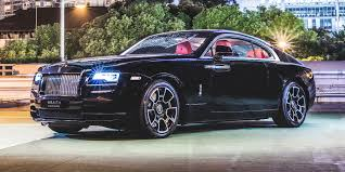 Vehicle deals starting price total available; The Rolls Royce Wraith Black Badge Costs Many First Class Plane Tickets For A Reason