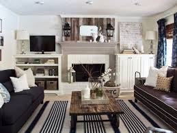 Living Room Ideas:Wall Decor Living Room Ideas Shabby Chic Interior Design  Ideas Fireplace Wall