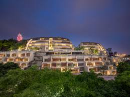 architecture buildings around the world.  Architecture Eling Residences Completed In Chongqing China The Project Is Located On A  Steep Hillside Adjacent To The Wellknown Park And Composed Of  On Architecture Buildings Around World