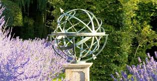 traditional bronze armillary sphere