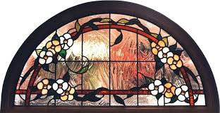 stained glass window inserts circle top inserts octagon stained glass window inserts