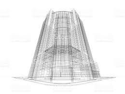 architecture blueprints skyscraper. Skyscraper Architecture Blueprint Royalty-free Stock Photo Blueprints K