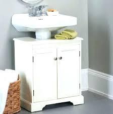 bathroom storage under sink. Pedestal Sink Organizer Under Storage Medium Size Of Bathroom Cabinet
