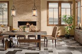 dining room tile flooring. stunning dining room floor in stone look - d6365 tile flooring d
