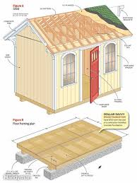 free shed plan for a budget friendly storage
