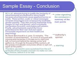 argumentative essay ppt  sample essay conclusion
