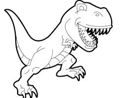 Beautiful Inspiration Trex Coloring Page And T Rex Is Dino