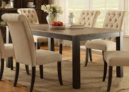Furniture Of America Marshall Rustic Oak Dining Table The Classy Home