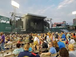 Fenway Park Concert Seating Chart Billy Joel Fenway Park Section C7 Row 6 Seat 8 Billy Joel Tour In