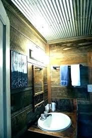 corrugated tin walls corrugated corrugated tin walls interior corrugated sheet metal bathroom rustic bathroom with corrugated corrugated metal wall art