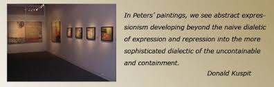 essay donald kuspit re sammy peters dialectical paintings one can t help but attend to the titles of sammy peters new abstract expressionist paintings all 1992 93