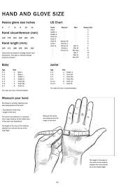 Hestra Glove Size Chart Images Gloves And Descriptions