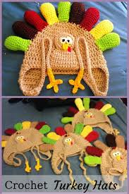 Crochet Turkey Hat Pattern Unique Design