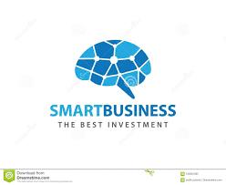 Matrix Logo Design Smart Matrix Dot Brain Advanced Technology Vector Logo