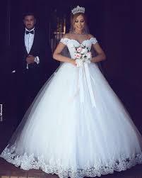 Brautkleider Weiß Creme Günstig, Spitze Hochzeitskleider ...
