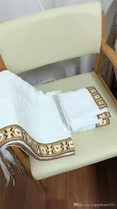Designer Bath Towels Luxury Bath Towel Set Designer Brand Square Beach Towel And Bath Towel Cotton Fabric Soft Comfortable 2019 New Arriv Towels Bath Beach Towel Dress