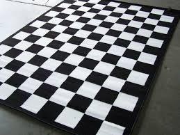 black and white area rug. black and white checkerboard rug designs area b
