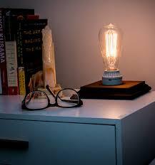diy edison bulb table lamp