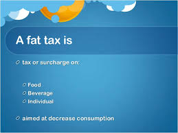 fat taxes in europe