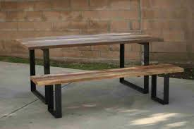 Wood Pallet Table Top Reclaimed Wood And Metal Furniture Maxatonlenus