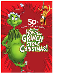 how the grinch stole christmas book.  Christmas Amazoncom How The Grinch Stole Christmas 50th Anniversary Deluxe  Edition Movies U0026 TV Throughout Christmas Book