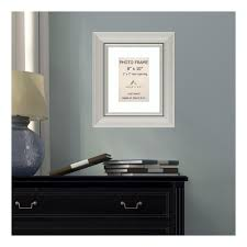 white matted silver picture frame