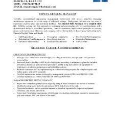 Resume Sample Of Mechanical Maintenance Engineer New Pleasing