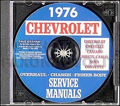 1976 chevy el camino gmc sprint wiring diagram original 1976 chevy cd rom shop overhaul body manual 30 00 more details 1976 wiring diagram manual chevelle el camino