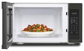 whirlpool 1 6 cu ft countertop microwave with 1 200 watt cooking power