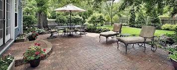 brick patio ideas. Backyard With Concrete Pavers Brick Patio Ideas
