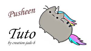 Comment Dessiner Pusheen Le Chat En Licorne Youtube