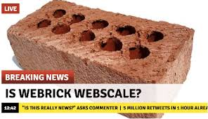 Is Webrick Webscale