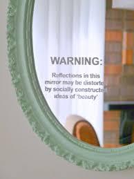 Diy Mirror How To Stencil A Mirror A Feminist Diy Craftivism Project Dans