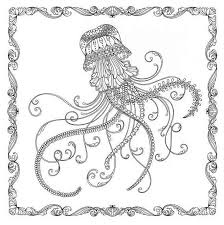 Top 12 Jellyfish Mandala Coloring Pages Coloring Pages
