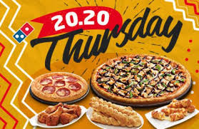 domino s pizza 20 20 thursdays save up