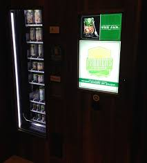Vending Machine Fridge Custom Would You Eat A Salad From A Vending Machine One Mile At A Time