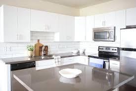 quartz kitchen countertops white cabinets. White Quartz Countertops With Cabinets Flat Front Grey Kitchen . A
