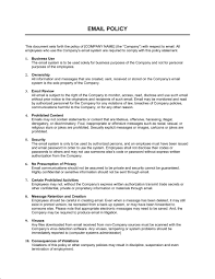policy templates email policy strict template word pdf by business in a box