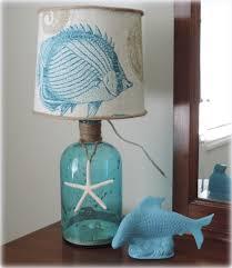 diy decor a beach inspired bottle table lamp coastal bedroom