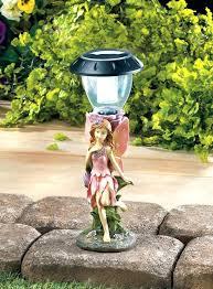 solar garden statue lights outdoor statues power pet memorial solar garden statue