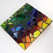 tumbled stained glass assortment mosaic 4