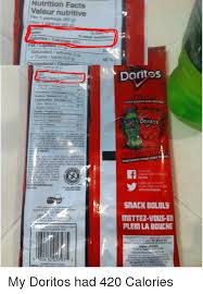 facts ironic and mlg nutrition facts valeur nutritive per 1 package saturated satuan